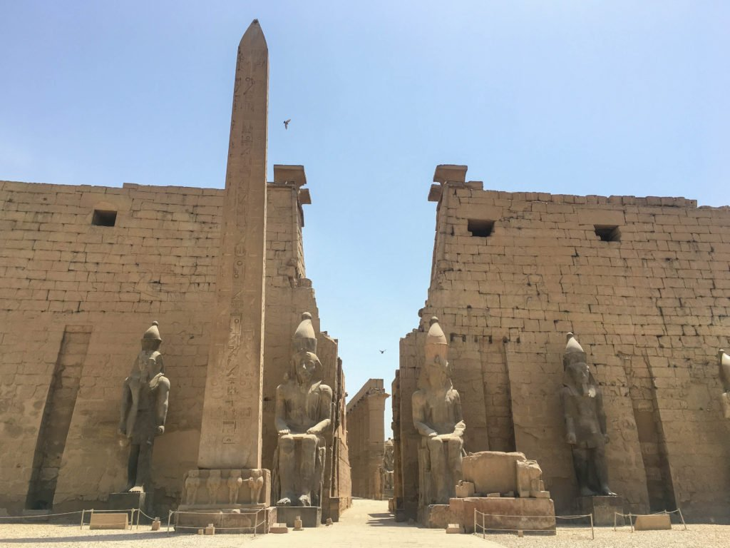 Luxor Temple Egypt sights