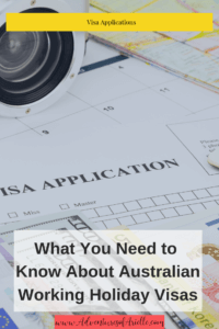 how to apply for an Australian working hioliday visa